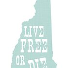 New Hampshire Slogan by surgedesigns