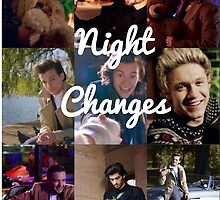 Night Changes Collage by karefulkreation