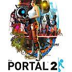 Portal 2 Poster by GoldenWrapper