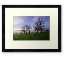 Castleton Valley Framed Print