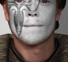 Theon Greyjoy Kraken House War Paint  Sticker