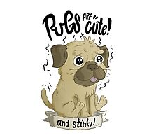 Pugs are cute by allanohr