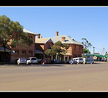 Coolgardie Town Centre by Daniel Fitzgerald