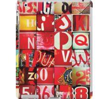 Instagram Alphabet Collection #5 iPad Case/Skin