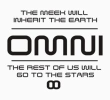 OMNI - The meek shall inherit the earth Kids Clothes