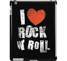 I Love Rock N' Roll iPad Case/Skin