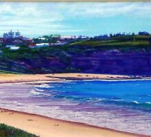 Bongin Bongin Bay, Northern Beaches, Sydney, Australia by Carole Elliott