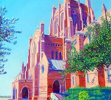 Bathed in Sunlight, Christ Church Cathedral, Newcastle by Carole Elliott