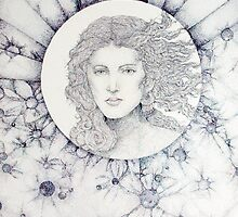 Pointillism: Lady Venus in the Sky by Danielle J. Scott (Smith)