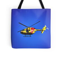 SURF RESCUE HELICOPTER Tote Bag