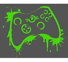 Xbox Controller (Splatter) Photographic Print