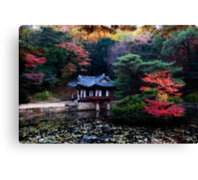 Asian Garden Canvas Print