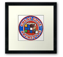 Cheat Code Archetype Framed Print