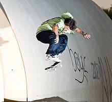 Skateboard_ Kickflip by JeanSchwarz