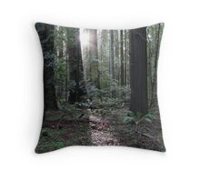 redwood dawn Throw Pillow