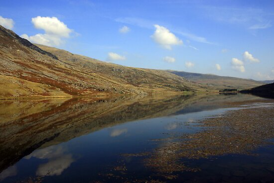 Reflections at Conway, North Wales by Victoria Ashman