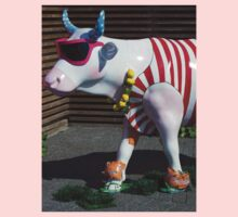Painted Cow on Holiday - at Floriade Kids Clothes