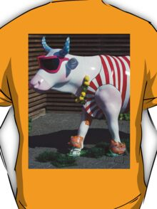 Painted Cow on Holiday - at Floriade T-Shirt