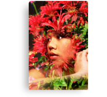 Lady from Thailand Canvas Print