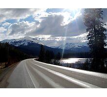 Yellowhead Highway Photographic Print