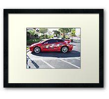 Hot Wheels Car Framed Print