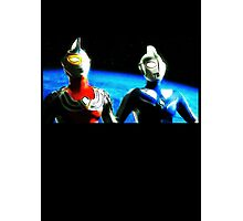 Ultraman Style Photographic Print