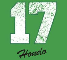 Celtics Numbers - Hondo no. 17 by JohnLucke