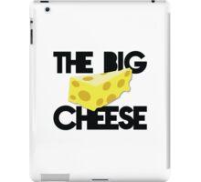THE BIG CHEESE like a boss cheesy humour! iPad Case/Skin