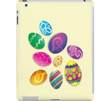 Many Easter eggs  iPad Case/Skin
