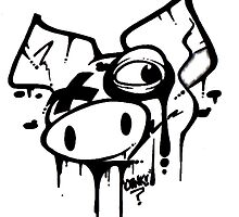 Oink! Drips.. by Oinkartist
