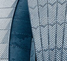 Opera House Abstract by JoshuaStanley