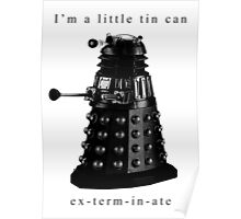 I'm a little tin can. Poster
