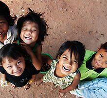Angkor watt Kids by Pauline