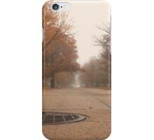 Foggy Autumn Quiet iPhone Case/Skin