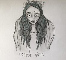 Corpse Bride pillow/tote/phone case by estherleejh
