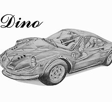 Ferrari Dino by BSIllustration