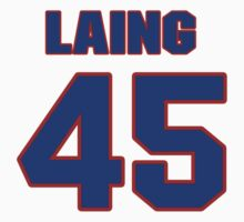 National Hockey player Quintin Laing jersey 45 by imsport