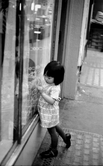 Chinese child, Covent Garden by david malcolmson