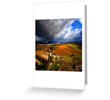 Andalusia for ever Greeting Card