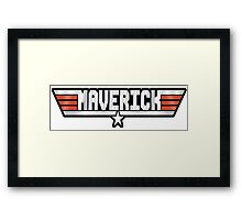 Maverick callsign Framed Print