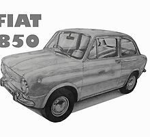 Fiat 850 by BSIllustration