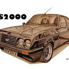 Ford Escort RS2000 by BSIllustration