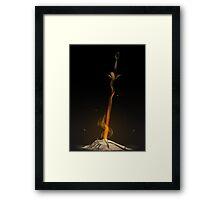 Bonfire  Framed Print