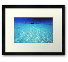 divine waters Framed Print