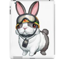 Rescue Rabbit Shirt iPad Case/Skin