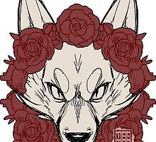 Wolves & Roses by Mawrar