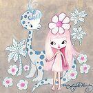 Sweet Pet Brontosaurus by TenshiNoYume