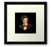 Matt Smith colour portrait Framed Print