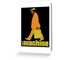 sexmachine - orange & lime - style no.1 Greeting Card
