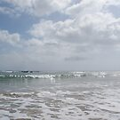 at Cooee beach - calm water at the moment by gaylene
